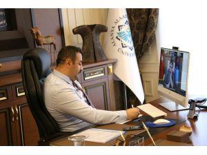 Batı Akdeniz Üniversiteler Birliği çevrimiçi toplandı