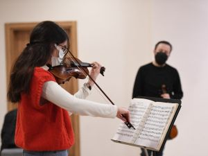 Müzik Akademisi'nde masterclass eğitimi