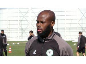 """Sokol Cikalleshi: """"Gollerimden Öte Konyaspor'un Başarısını Önemsiyorum"""""""