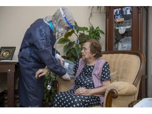 Mersin'de 8 Bin Haneye 50 Bin Kez Evde Sağlık, Bakım Ve Destek Hizmeti