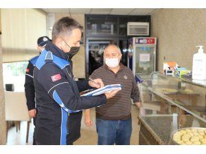 Erdemli Belediye Zabıtasından Korona Virüs Denetimi