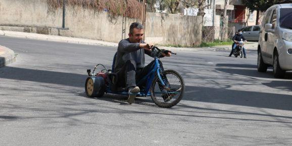 İşsizlikten Sıkılan Servis Şoförü Motorlu Drift Trike Yaptı