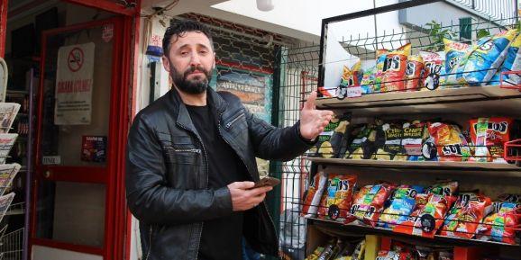"""Cips standını rüzgara kaptıran marketçi: """"İzledikçe gülüyorum"""""""