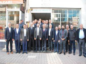 Milletvekillerinden Şahan'a Ziyaret