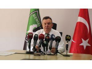 """Denizlispor Kulübü Başkanı Ali Çetin: """"Yaklaşık 72 Milyon Tl Borç İle Göreve Başladık. Süper Lig'e De 43 Milyon 378 Bin Tl Borçla Başladık."""""""