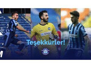 Adana Demirspor'da Sözleşmesi Biten 3 Oyuncu Daha Takımdan Ayrıldı