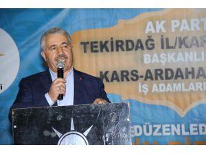 Bakan Arslan, Kapaklı'da iftar programına katıldı
