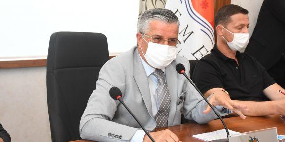 """Başkan Topaloğlu: """" Kemer'in marka değerini düşürmeyeceğiz"""""""