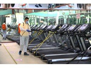 Keçiören'de Sağlık İçin Hijyenik Spor Salonları