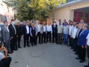 Adana'da Mhp'ye Toplu Katılım