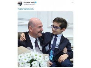 Bakan Soylu'dan Babalar Günü'nde Şehit Polis Memuru Hüseyin Gül'e Vefa