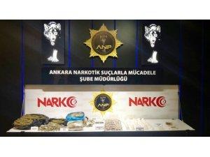 Ankara'da Uyuşturucudan Son Bir Haftada 33 Kişi Tutuklandı