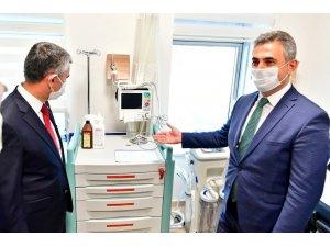 Başkan Köse, Mamak Devlet Hastanesi'ni Ziyaret Etti