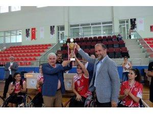Tekerlekli Sandalye Basketbol Kadınlar Türkiye Şampiyonası İ̇skenderun'da Yapıldı