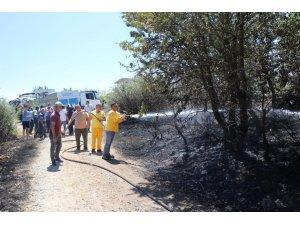 Pozantı'daki Orman Yangını Söndürüldü