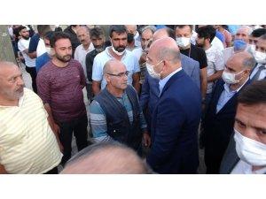 İ̇çişleri Bakanı Soylu'dan Katledilen Ailenin Yakınlarına Taziye Ziyareti