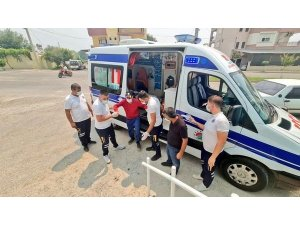 Kepez sağlık ekibi Manavgat'ta
