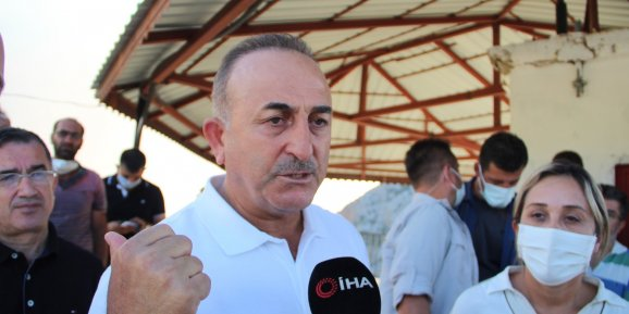 """Dışişleri Bakanı Çavuşoğlu: """"Gündoğmuş için yakın bir tehdit yok"""""""
