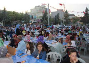 Esenler Belediyesi Suruç'ta İftar Programı Düzenledi
