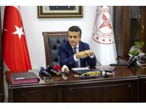 """Ankara İ̇l Sağlık Müdürü Akelma: """"Servis Yataklarında Doluluk Oranımız Yüzde 55, Yoğun Bakımlarda Doluluk Oranımız Yüzde 70"""""""