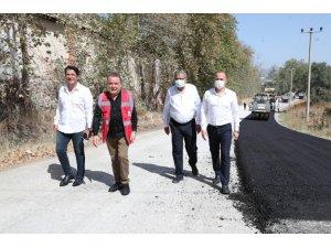 Kırkgöz yolu sıcak asfaltla kaplanıyor