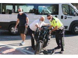 Halk otobüsü ile çarpışan motosiklet sürücüsü veteriner gençten acı haber geldi