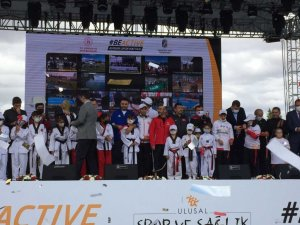Avrupa Spor Haftası'nda Anıttepe'de sporcular harekete geçti