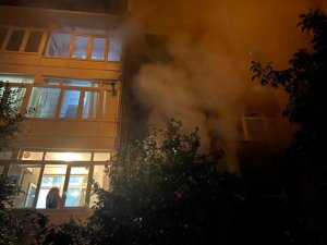 Başkent'te yangın korkuttu