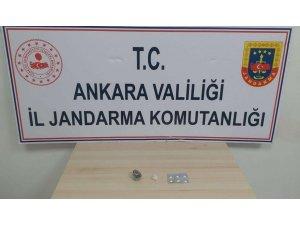 Ankara'da jandarmadan uyuşturucu operasyonu