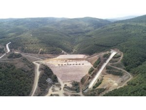 Bilecik Pazaryeri Dereköy Barajı'nda Çalışmalar Devam Ediyor