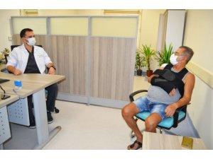 67 Yaşındaki Hasta, 'Omuza Doku Transferi' İle Sağlığına Kavuştu