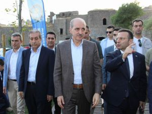 Başbakan Yardımcısı Kurtulmuş Diyarbakır'da