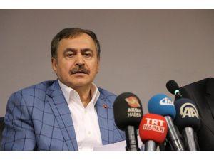 Bakan Veysel Eroğlu Kahramanmaraş'ta
