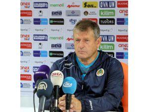 Alanyaspor–Kasımpaşa maçın ardından