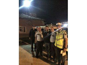 Başkan Bakıcı İftar Sonrası, Polis Ve İtfaiyecileri Ziyaret Etti
