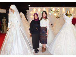 'Evlilik ve Düğün Hazırlıkları Fuarı' açıldı