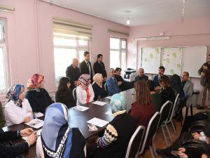Başkan Asya'dan Okul Ziyareti