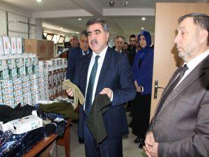 Belediye İle Hayatcan'dan 'Mehmetçiğimiz Üşümesin' Diye Kampanya
