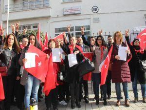 Mhp'li Kadınlardan Afrin İçin Askerlik Dilekçesi
