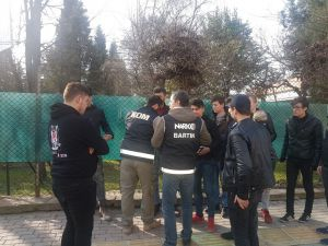 Bartın'da Okul Önlerinde Güvenlik Uygulaması
