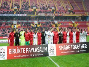 Ziraat Türkiye Kupası: Kayserispor: 1 - T. M. Aksiharspor: 1 (İlk Yarı)