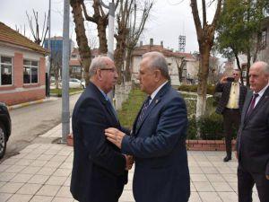 Başkan Albayrak Tekirdağ'daki Projeleri Yerinde İnceledi