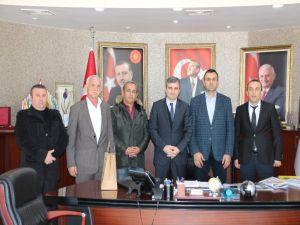 Şoförler Odası Yönetimden Başkan Yemeniciye Ziyaret