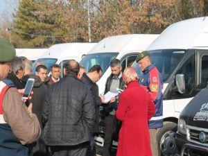Sungurlu'da Öğrenci Servisleri Denetlendi