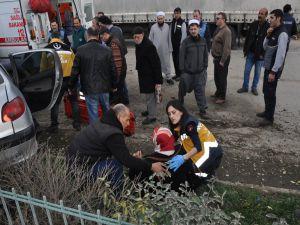 İnegöl'de Feci Kaza: 4 Yaralı