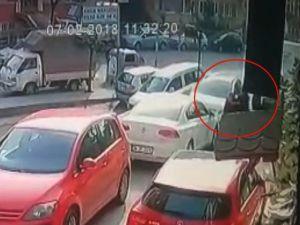 Şişli'de Sokak Ortasında İşlenen Kadın Cinayeti Kamerada