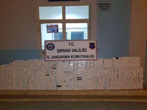 Şırnak'ta 4 Bin 250 Paket Kaçak Sigara Ele Geçirildi