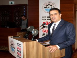 Mesiad Başkan Adayı İpek, Projelerini Açıkladı