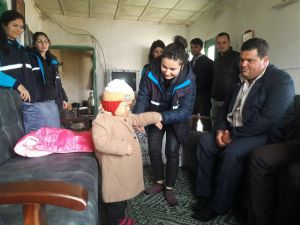 Çerçioğlu, Fedakar Babaya El Uzattı