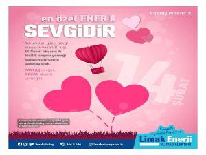 Limak Uludağ Elektrik'ten Sevgililer Günü Hediyesi
